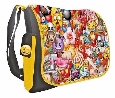 Official Emoji Messenger Shoulder Bag