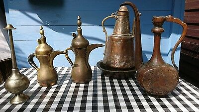 Arabische Kaffee Tee Wasser  Kannen Antique Islamic Arabic coffee pot Lampe