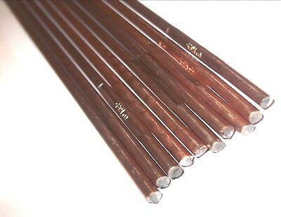 Gas Welding Rods. 1.6mm - 3.2mm. Copper Coated. 330mm / 495mm. *Top Quality!