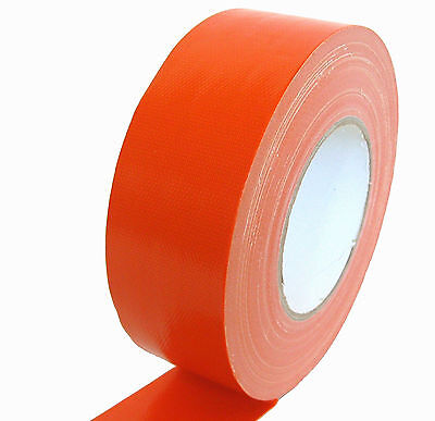 Gaffa ® bande stage-band 50mm x 50m orange tissu