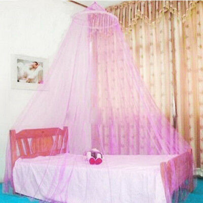 New Elegant Round Lace Insect Bed Canopy Netting Curtain Dome Mosquito Net