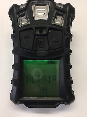 MSA Altair 4 Multiple Gas Det. (LEL, O2, CO, H2S) W/Charger Needs New O2 Sensor