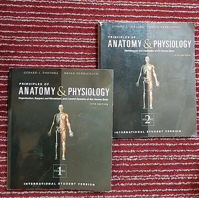 Principles of Anatomy and Physiology volume 1 and 2