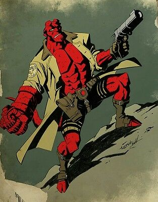 Hellboy Comic Collection BPRD Mike Mignola Graphic Novel DVD