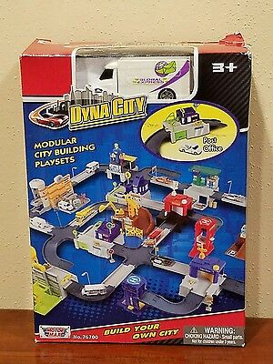 NEW Motor Max Dyna City Post Office Modular City Building Playsets