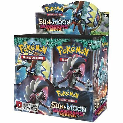 Pokemon Cards: Sun & Moon Guardians Rising Sealed Booster Box - 36 Packs