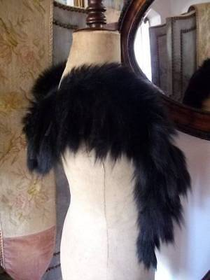 Luxurious Authentic  French Antique Fox Fur Stole /Boa c 1888