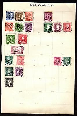 Stamps ~ CZECHOSLOVAKIA ~ Early #1