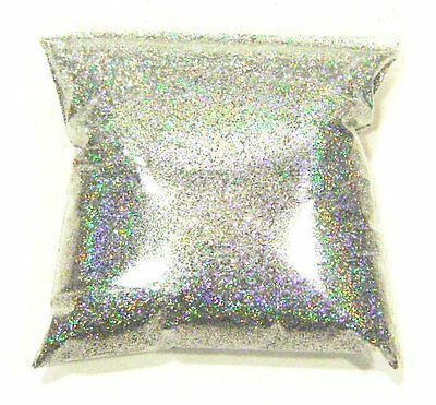 """11oz / 325ml Silver Jewels Holographic Metal Flake .008"""" Paint Additive - LF2911"""