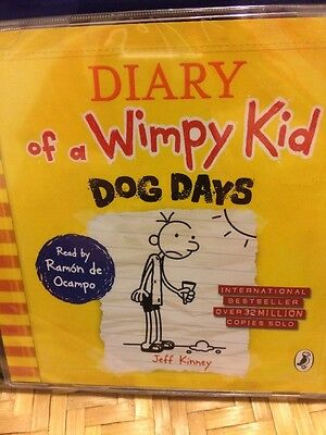 The Diary Of A Wimpy Kid-Dog Days-2CD Audio-new/sealed