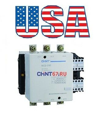 New Telemecanique Contactor LC1-F330 Relacement For Chint NC2-330 3Pole 330Amp.