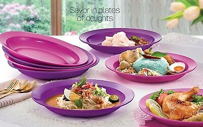 New Tupperware Large Deep Plate (8) 550ml