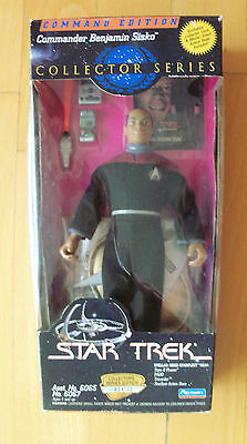 "STAR TREK - Collector Series - Commander Benjamin Sisko 9"" Figur Playmates 1995"