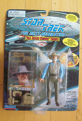 STAR TREK - TNG - Captain Jean-Luc Picard Retired OVP 1995