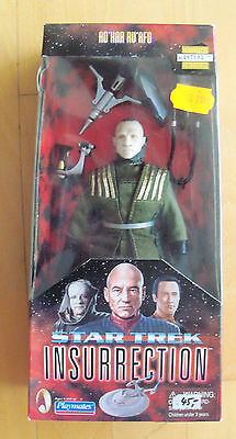 "STAR TREK - INSURRECTION - 9"" Figur Ad'Har Ru'Afo OVP Playmates 1998"