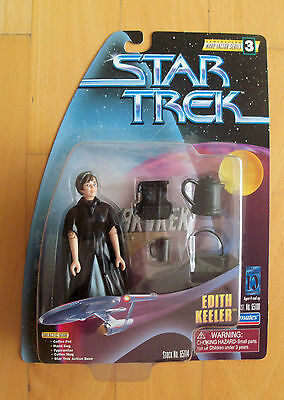 STAR TREK - Warp Factor Series - Figur EDITH KEELER - OVP Playmates 1997