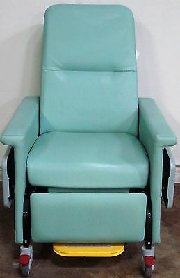Champion 54 Series Light Green Patient Recliner Medical Dialysis Chair