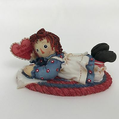 Enesco Raggedy Ann Figurine 640468 For You With My Hearts Best Love Vintage