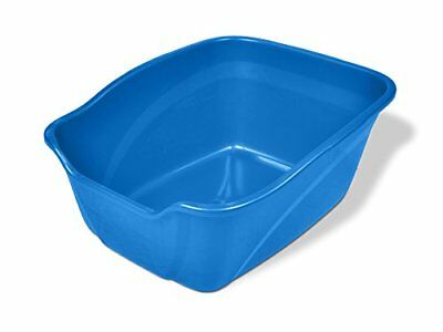Jumbo Size Cat Litter Box For Large Cats Odor And Stain Resistant High Sides