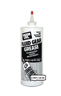 1-Pint, Farm Oyl Fluid Gear Grease high performance #00 Grade Lithium Grease16OZ