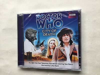 DOCTOR WHO - CITY OF DEATH - TOM BAKER - LALLA WARD CD-Audio Book - New / Sealed