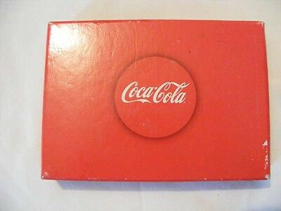 Coca Cola Bicycle Playing Cards new in Plastic & Cardboard Box