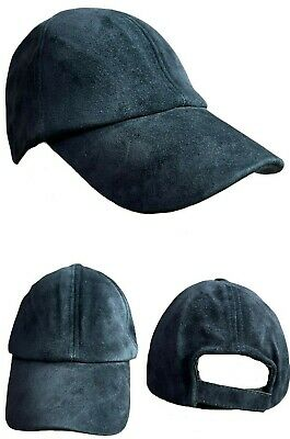 Excellent Quality Adult Unisex 100% Real Suede Leather (Golf,Baseball) caps