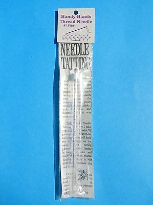 Tatting Needle #7 Fine Handy Hands Tatting Needle & Threader New In Package