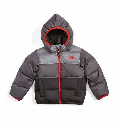 The North Face Moondoggy Water Repellent Reversible Down Jacket Size 4T