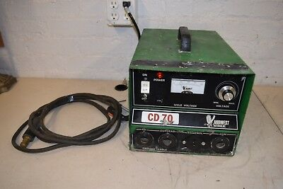 Midwest Fasteners CD 70 Capacitor Discharge Cuphead Stud Welder w/ Accessories