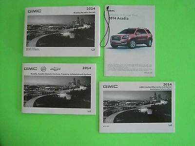2014 gmc acadia owners manual w infotainment manual u2022 24 00 picclick rh picclick com 2012 gmc acadia owners manual pdf 2014 gmc acadia owners manual pdf