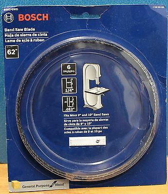 Bosch BS62-6WD 62-Inch X 1/4-Inch X 6-Tpi General Purpose Wood Band Saw Blade