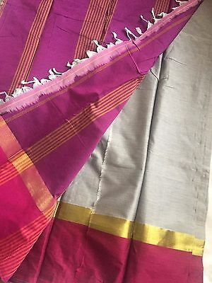 Indian Banarasi Sari / Kanchipuram /  Fancy Bridal / Katan Silk Saree 122