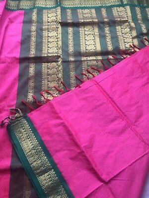 Indian Banarasi Sari / Kanchipuram /  Fancy Bridal / Katan Silk Saree 123