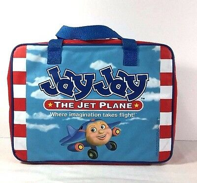 "Jay Jay the Jet Plane Suitcase Storage Carry Bag 2002 13"" x 9"""