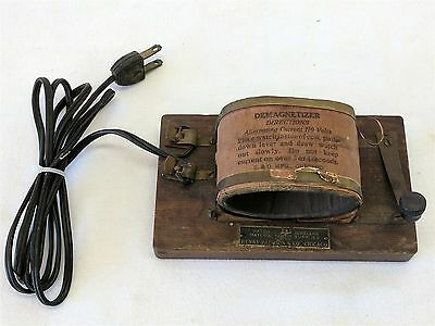 Antique WATCH DEMAGNETIZER by Henry Paulson & Co., Chicago / early 20th Century