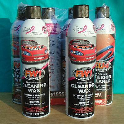 6 fastwax cans cleaning wax fw1 wash wax high performance 17 5 oz