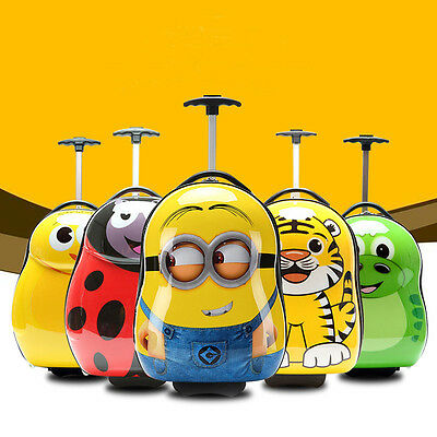 Children luggage Bag Outdoor Travel Cases Kids Wheel Bag Trolley Cabin Suitcases