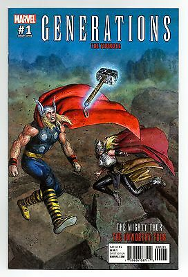 Generations Unworthy Mighty Thor #1 1:25 Pastoras Variant First Print Marvel Vf