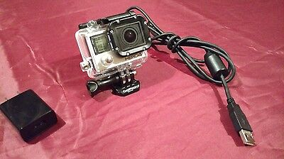 Gopro Hero 4 BLACK Edition 4K Action Camera Camcorder CHDHX-401