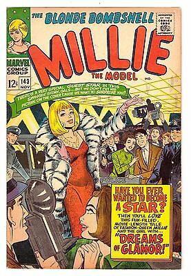 Millie the Model #143 VG+ (4.5) Marvel Comic 1966 (2)