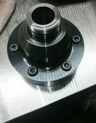 5C Collet Chuck Cnc Lathe A2-6 Pull Back Collet Chuck With Draw Tube Adapter!