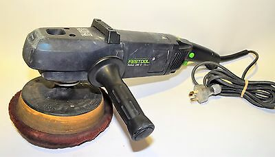 REDUCED Festool Pollux 180 E Rotary Polisher 1500W 180MM Corded Electric #273