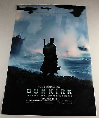 Dunkurk Official Movie Theater Poster Original 27x40 Fionn Whitehead Bonnard
