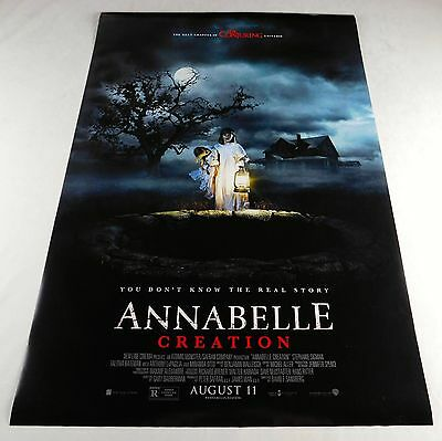 Annabelle Creation Official Movie Theater Poster Original 27x40 Horror Doll