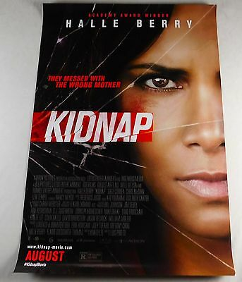 Kidnap Official Movie Theater Poster Original 27x40 Halle Berry Lew Temple 2017