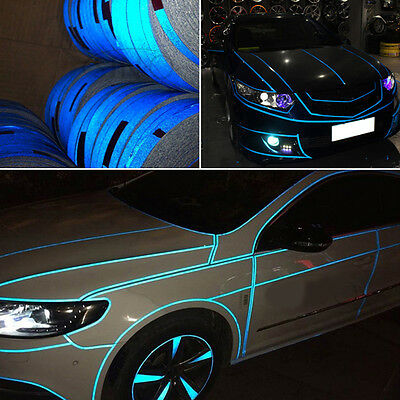 5M / Roll Car Truck Reflective Safety Tape Strip Night Warning PVC Sticker Decal