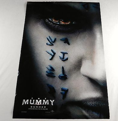 The Mummy Official Movie Theater Poster Original 27x40 Tom Cruise Crowe 2017
