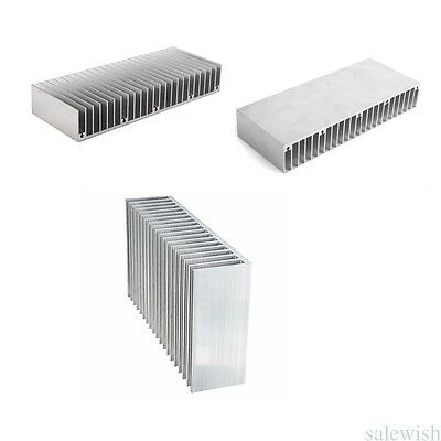 60mm x 150mm x 25mm Sliver Aluminium Radiator Heatsink Heat Sink For Transistor