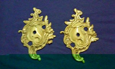 2 pieces vintage /antique bronze ormolu